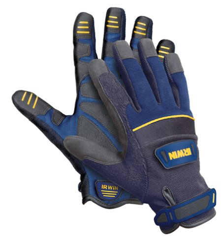 IRWIN Tools General Construction Gloves, Large (432005)