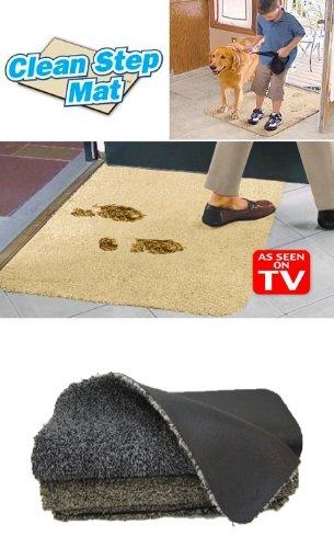 Clean Step Mat- Gray (2 Pack)
