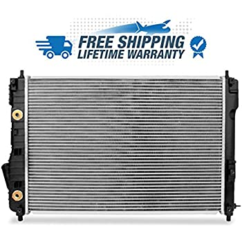 For 2009-2013 Chevy Aveo | 2009-2011 Aveo 5 | 2007-2010 Pontiac G3 I4 1.6L Direct Aluminum Core Radiator 13097