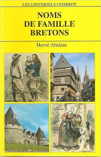 Livres Noms de famille bretons : 4812 Noms de famille pdf ebook