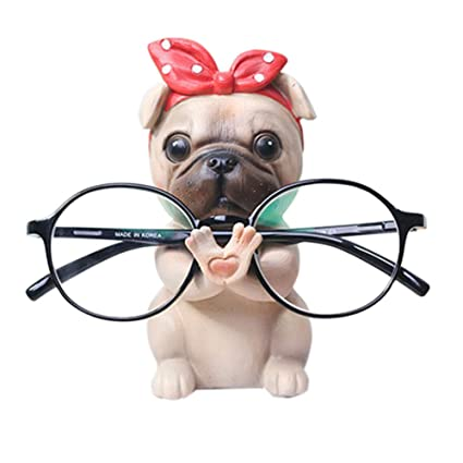 1a30450790c Amazon.com  Puppy Dog Glasses Holder Stand Eyeglass Retainers ...