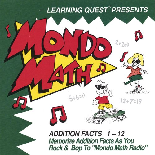 (Mondo Math; Addition Facts 1-12)