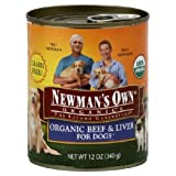 Newman's Own Grain-Free Canned Dog Food - Beef Liver - 12 oz by Newman's Own