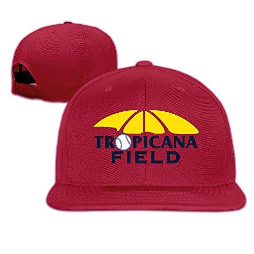 Bay Rays Baseball Tropicana Field Men Women Baseball Caps Red