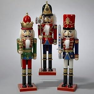 15 wooden nutcracker king soldiers for Floor nutcracker