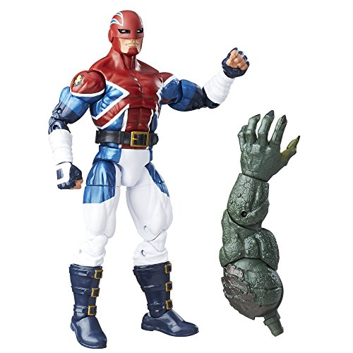 Marvel 6-Inch Legends Series Energized Emissaries: Captain Britain -