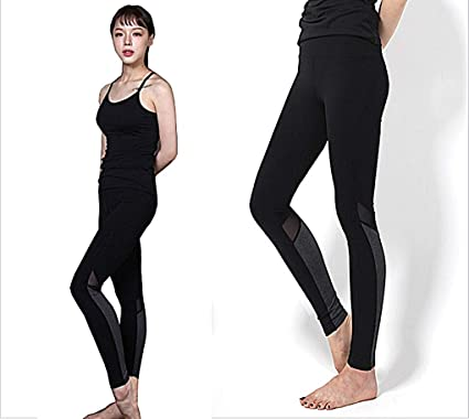 d3aa620e49 myglory77mall Men s Fitness Leggings Running Gym V Line Skinny Sports Yoga  Pants US XS(S