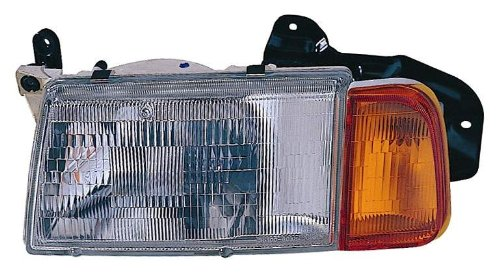 Depo 318-1102L-ASC Suzuki Sidekick Driver Side Replacement Headlight Assembly with Corner (Suzuki Sidekick Driver)