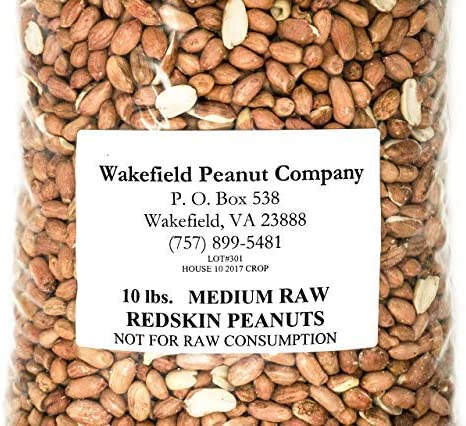 Virginia Peanuts Bulk Inshell Animal Peanuts for Squirrels 50 Lbs Total//Raw Peanuts//Bulk Nuts//Blue Jays//Cardinals//Woodpeckers//Parrots//Doves Birds Pigs and a Wide Variety of Wildlife Deer
