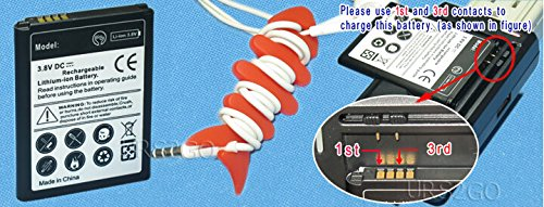 Accessory 2850mAh for Verizon LG Lucid 3 VS876 Rechargeable Li_ion Battery + Desktop Home Charger + Fish Bone Winder Silicon Mobile Phone