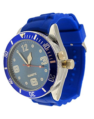 2-in-one-Watch-with-Secret-Hidden-Herb-and-Spice-Grinder-with-Bracelet-Blue
