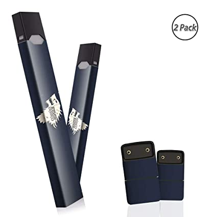 Skin Wrap for JUUL Vape stickers 2 Pack Premium Decal Stereo Touch (WINTER  COMING)