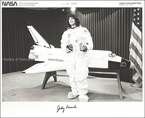 "Judith A.""Judy"" Resnik Photograph Signed"