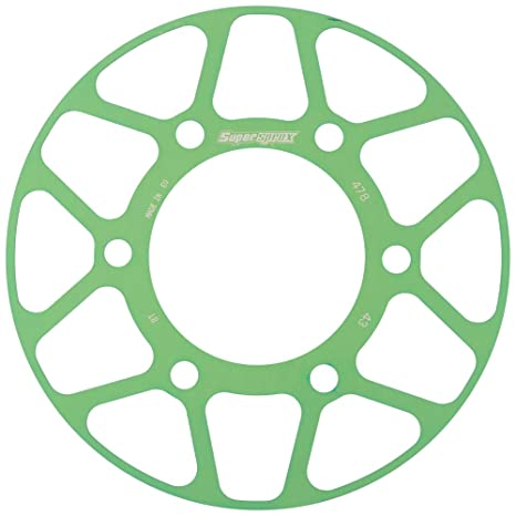 Amazon.com: Supersprox Edge Color Disc Green 43T-RACD-478-43 ...
