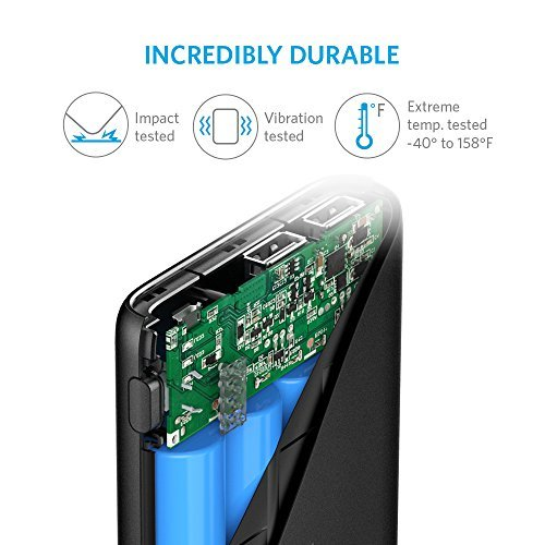 Anker PowerCore 10400mAh External Battery Pack for All Smartphones - Black by Anker (Image #5)