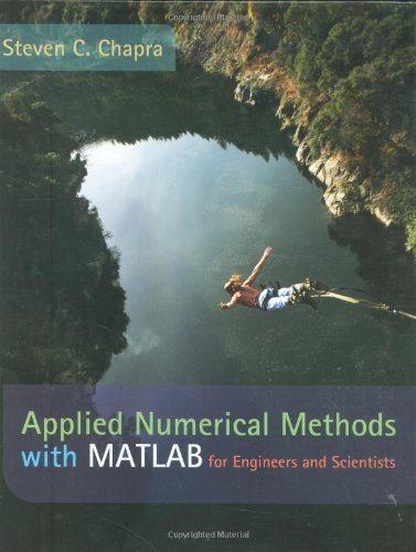 Applied Numerical Methods With Matlab For Engineers And Scientists (Hb 2005)