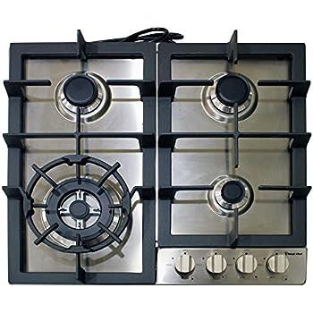 gas cooktop. Modren Cooktop Magic Chef MCSCTG24S 24 Inside Gas Cooktop