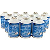 Johnsen's R-134a HFC 134A Automotive A/C Refrigerant Case of Self Sealing 12oz cans (Pack of 12) Made in USA