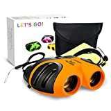 LET'S GO! Outdoor Toys for 3-12 Year Old Boys, DIMY Compact Watreproof Binocular