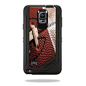Mightyskins Protective Vinyl Skin Decal Cover for OtterBox Defender Galaxy Note 4 Case cover wrap sticker skins Football