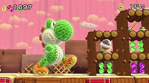 Yoshi Woolly World Bundle Green Yarn Yoshi amiibo - Wii U (Japanese version) by nintendo (Image #7)