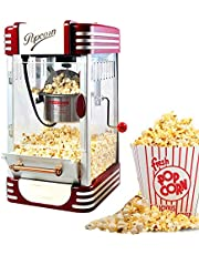 Popcorn Maker Fresh, Healthy and Fat-Free Theater Style Popcorn Machine Anytime Oil-Free Popcorn Popper
