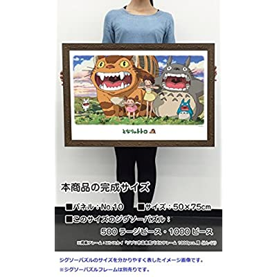 Ensky My Neighbor Totoro Opened Mouth Jigsaw Puzzle (1000-Piece): Toys & Games