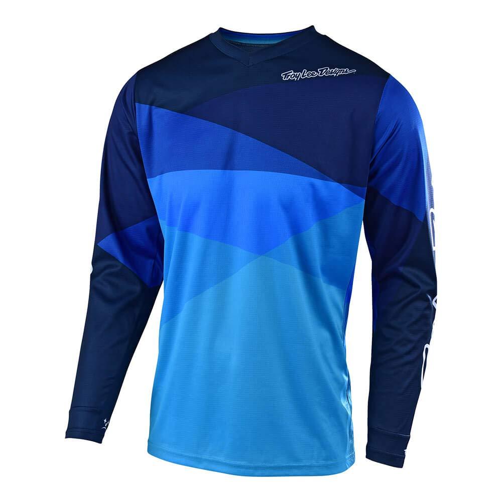 Troy Lee Designs Adult Off Road Motocross GP Jet Jersey Blue, X-Large
