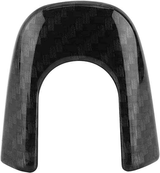 Cubierta de Agarre de la Puerta Delantera del Coche de Fibra de Carbono para CHR KIMISS 4