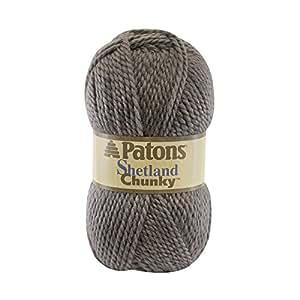 Spinrite Patons Shetland Chunky Yarn, Oxford Grey