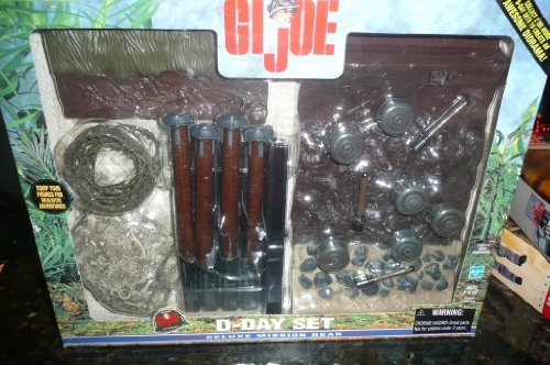 Joe Gear Mission Gi (Gi Joe D-day Deluxe Mission Gear)