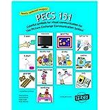 "PECS 151: 1 3/4"" Symbols for Picture Exchange Communication System"