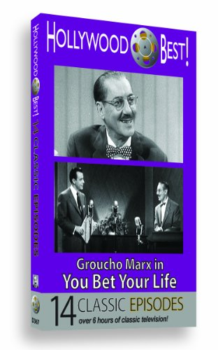 Hollywood Best! Groucho Marx, in You Bet Your Life - 14 Classic Episodes! (Best Masturbation Techniques For Females)