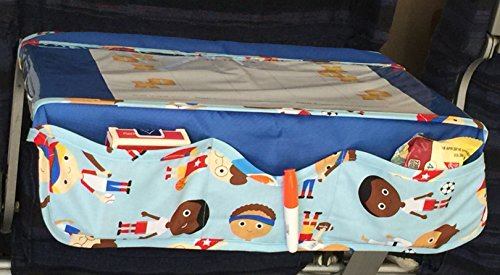 TRAYblecloth Airplane Tray Activity Cover (Blue Sport Kids)