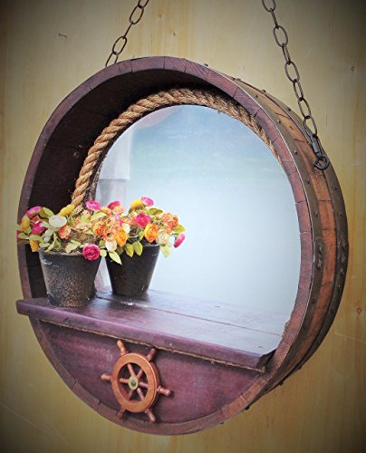 516Vh5fIeCL Best Porthole Mirrors For Nautical Homes