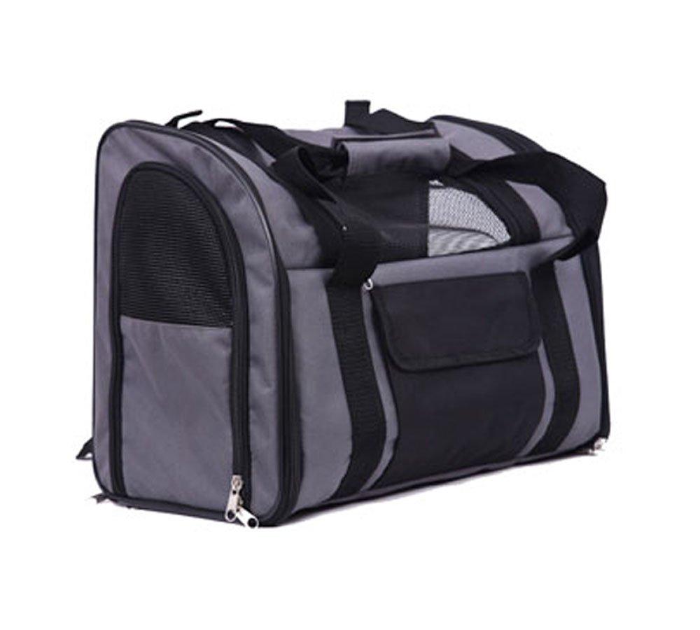 Iconic Pet Furry Go Luxury Pet Travel Backpack/Carrier Dark Grey 51722