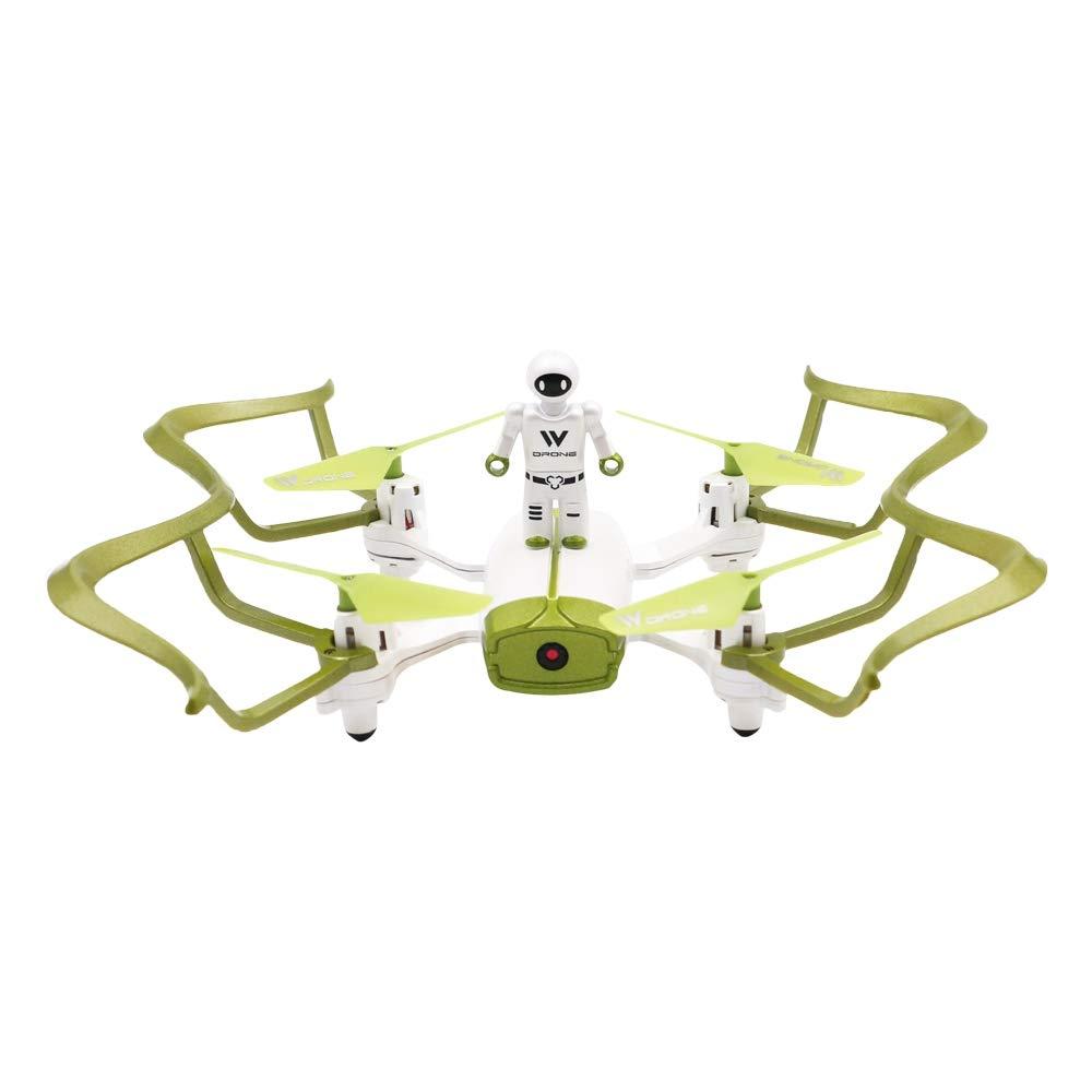 FYJH Remoto Drone Ultra-Estable 4 Canales helicóptero de Cuatro Ejes Aviones de Control Remoto Mini Drone, Drone FPV cámara HD y grabación de vídeo HD de Voz Control Remoto despegue de un botón