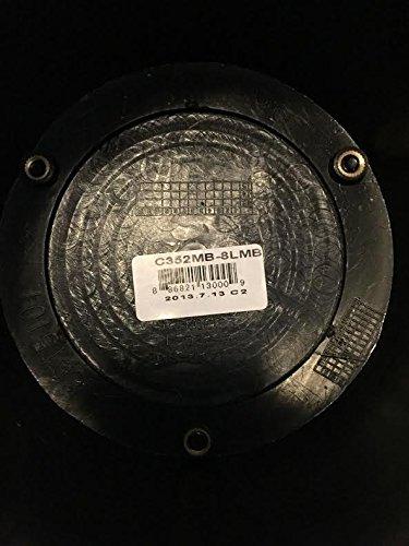 MB Wheels Off-Road C352MB-8LMB Black Wheel Center Cap