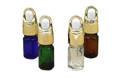 5 ml/10 ml 6pcs pipetas cuentagotas botellas de cristal con cristal/Maquillaje cosméticos