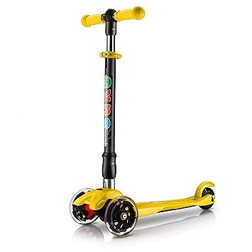 Patinete Scooters de Patinaje Ajustable en Altura para niños Scooter ...