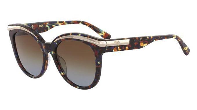 Amazon.com: Gafas de sol MCM 678 S 235 HAVANA/BLUE: Clothing