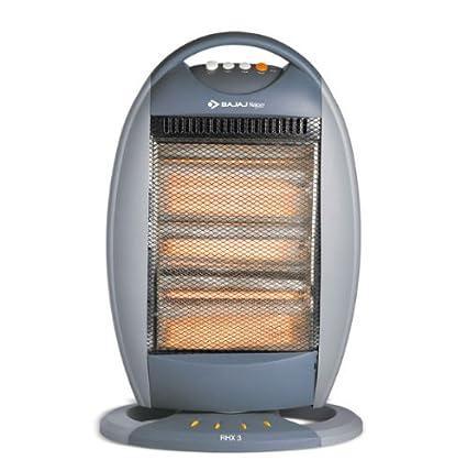 Bajaj Rhx 3t 1200 Watt Halogen Room Heater Amazon In Home Kitchen