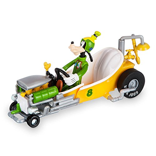 Disney Goofy Transforming Pullback Racer Mickey And The