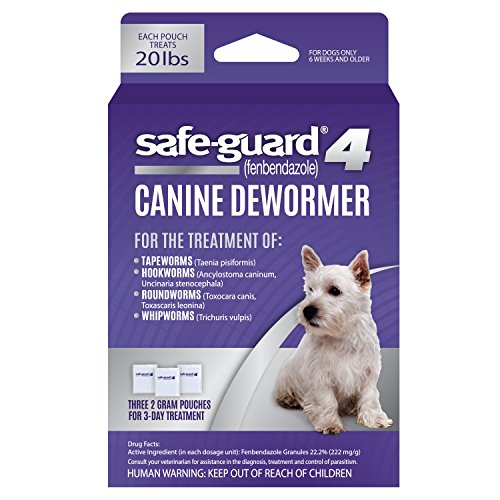 Excel 8in1 Safe-Guard Canine Dewormer for Medium Dogs, 3 Day Treatment