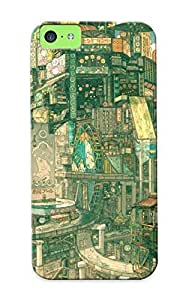 New Cityscapes Architecture Buildings Imperial Boy Detailed Tpu Case Cover, Anti-scratch Standinmyside Phone Case For Iphone 5c