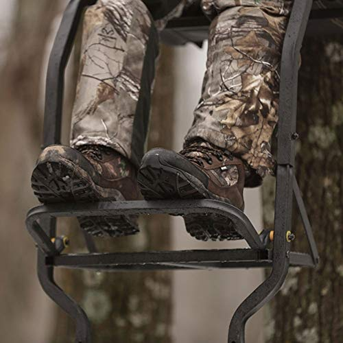 Rivers Edge RE661 Deluxe XT 1 Man Seat Lock On Deer Hunting Tree Ladder Stand