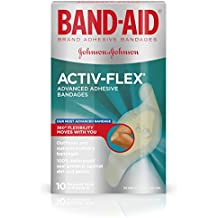 Band-Aid Brand Activ-Flex Adhesive Bandages For An Active Lifestyle, 10 Count...