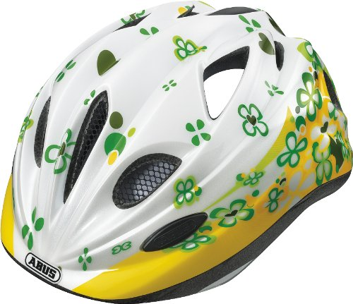 Abus Chilly - Casco de ciclista infantil, color blanco - 46-52 cm: Amazon.es: Deportes y aire libre