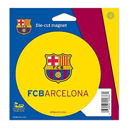 WinCraft Soccer FC Barcelona Die Cut Magnet, 4.5