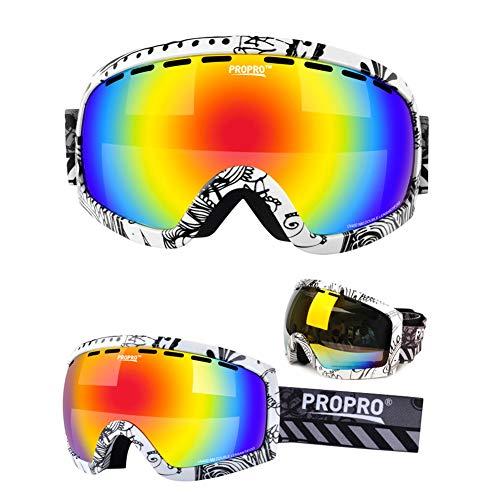 Unisex Sol Exterior iShinè Mujer Gafas 1 de de Hombre de Protección Gafas Gafas Diseño Deportes Diseño 3 esquí Ojo de glasses Seguridad 0wBAF07TW